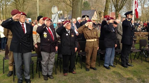 Herdenking 75 jaar bevrijding Westerbork