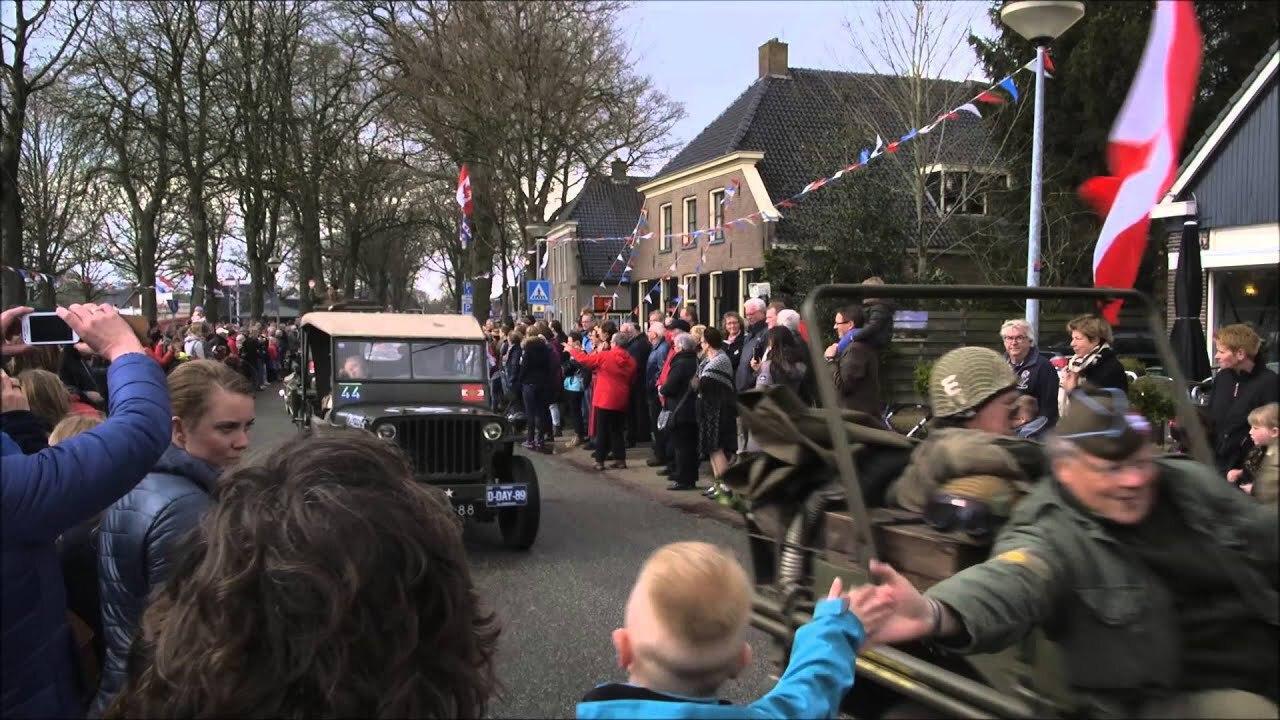 Parade Keep Them Rolling Westerbork
