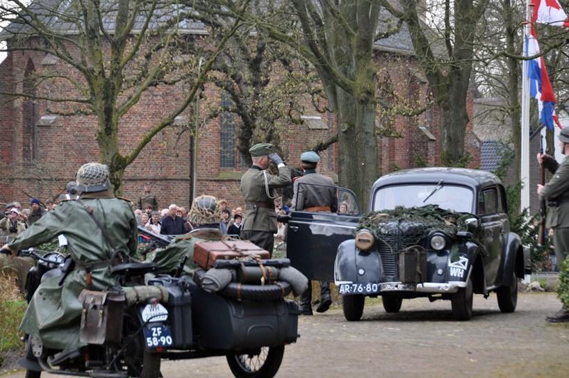 75 jaar bevrijding Westerbork re-enactment